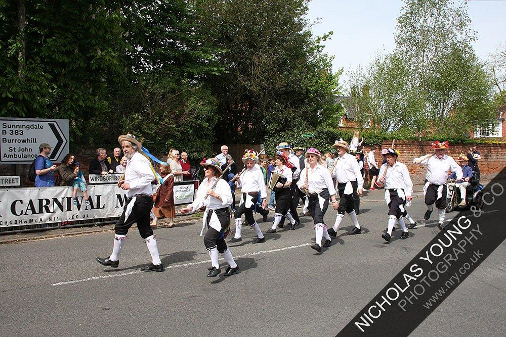 Carnival Procession - Morris Dancers